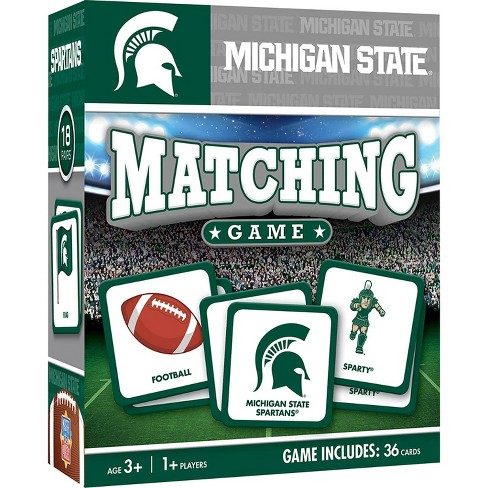 NCAA Michigan State Spartans Matching Game - image 1 of 2