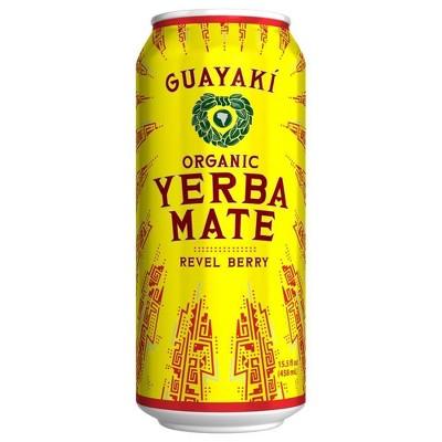 Guayaki Yerba Mate Revel Berry - 15.5 fl oz Can
