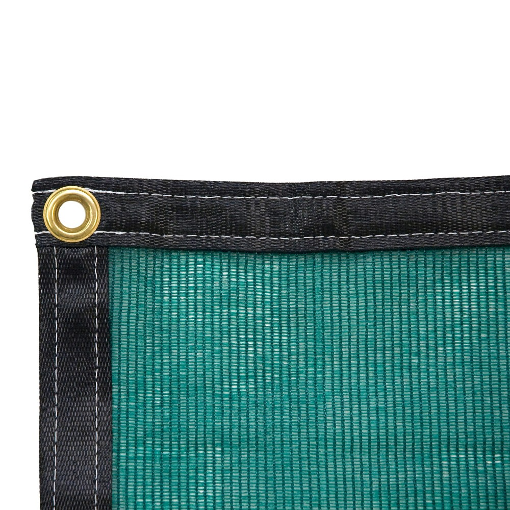 Image of 10 x 10 Shade Cloth - Green - Poly-Tex