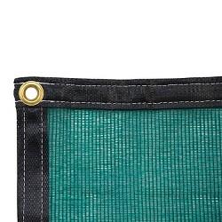 10 x 10 Shade Cloth - Green - Poly-Tex