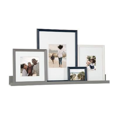 5pc Bordeaux Frame Multiple Coastal Finishes Box Set - Kate & Laurel All Things Decor