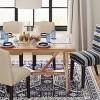 Wheaton Farmhouse Trestle Dining Table - Threshold™ - image 5 of 7