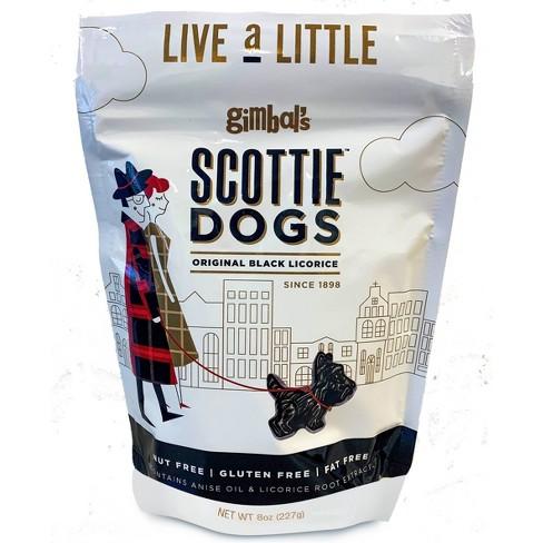 Gimbal's Black Licorice Scottie Dogs - 8oz - image 1 of 3