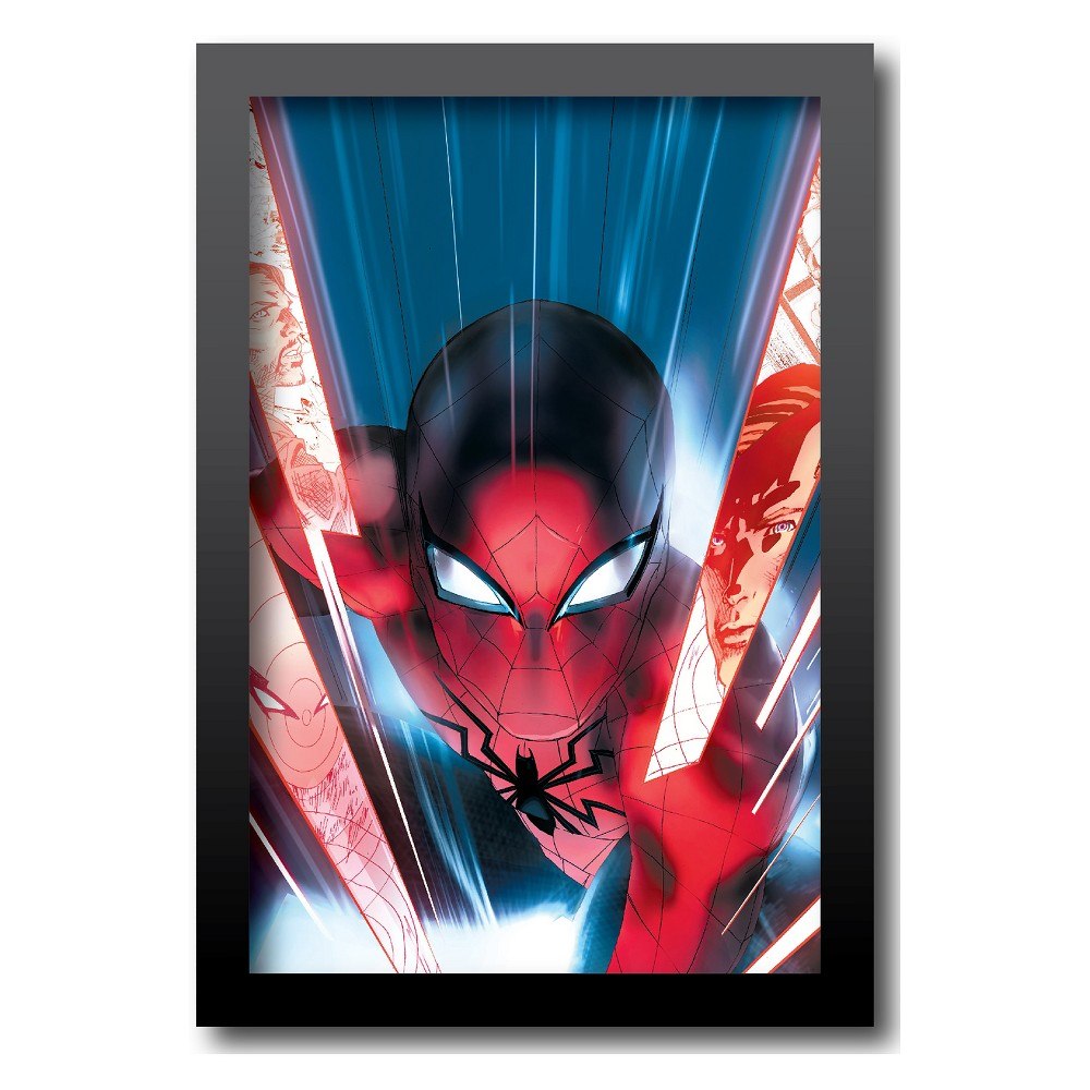 Marvel Spider-Man Framed Wall Art, Multi-Colored
