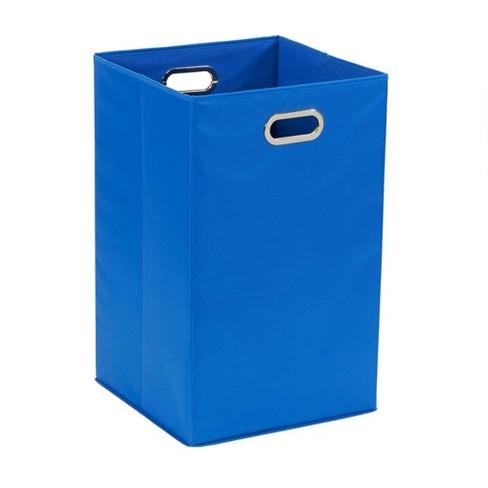 Household Essentials Laundry Hamper Blue - image 1 of 4