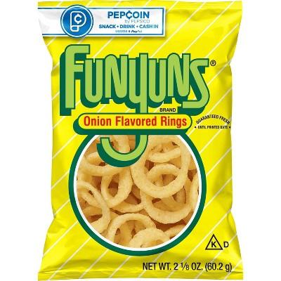 Funyuns Onion Flavored Rings - 2.125oz