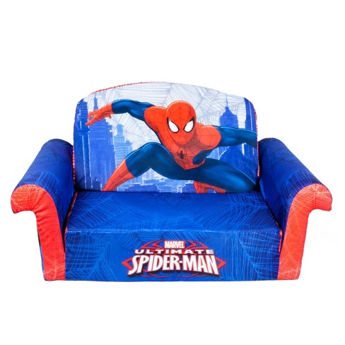 Incredible Marshmallow Spider Man Furniture Flip Open Sofa Andrewgaddart Wooden Chair Designs For Living Room Andrewgaddartcom