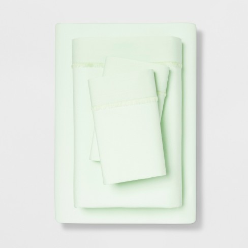 Solid Percale Cotton Sheet Set - Opalhouse™ - image 1 of 1
