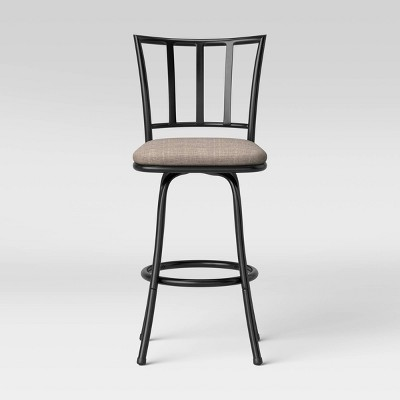 Robinson Adjustable Height Barstool Gray - Cheyenne Products