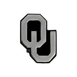 NCAA Oklahoma Sooners Chrome Auto Emblem