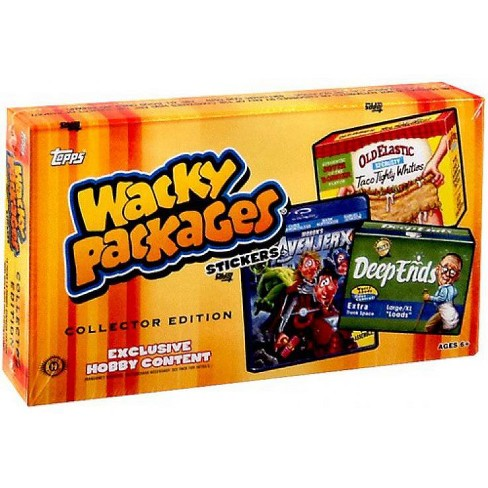 Topps Wacky Packages Series 11 Trading Card Sticker Collector Box - image 1 of 1
