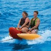 Sportsstuff Hot Dog 2 Person Inflatable Boat Lake Water Towable Tube | 53-3055 - image 2 of 4