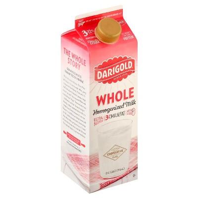 Darigold Whole Homogenized Milk - 1qt