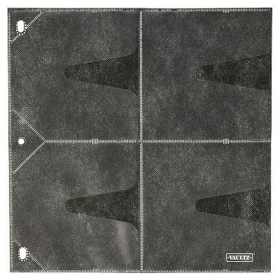 Vaultz CD Binder Pages, 25ct - Black