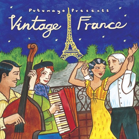 Putumayo presents - Vintage france (CD) - image 1 of 1