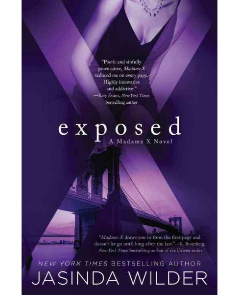 Exposed -  Reprint (Madame X) by Jasinda Wilder (Paperback) - image 1 of 1