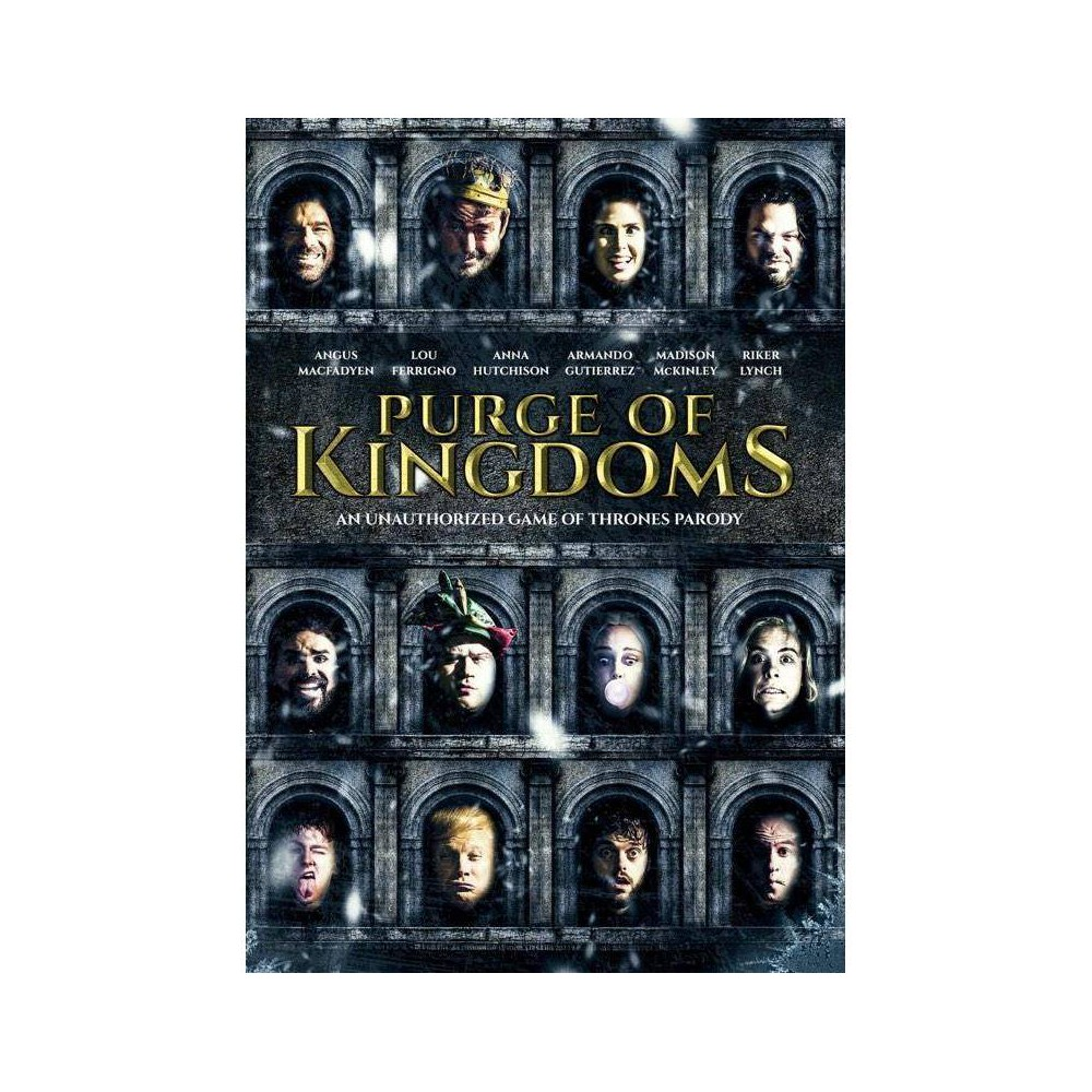 Purge Of Kingdoms The Unauthorized Game Of Thrones Parody Dvd 2019