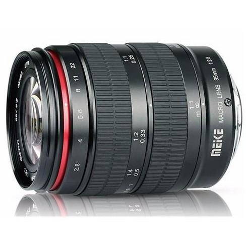 Meike 85mm f/2.8 Lens for Canon EF, Black - image 1 of 4