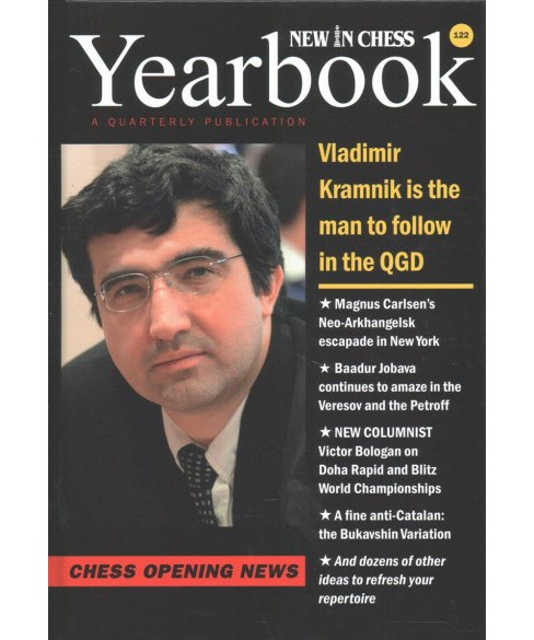 New in Chess Yearbook : Chess Opening News (Vol 122) (Hardcover) - image 1 of 1