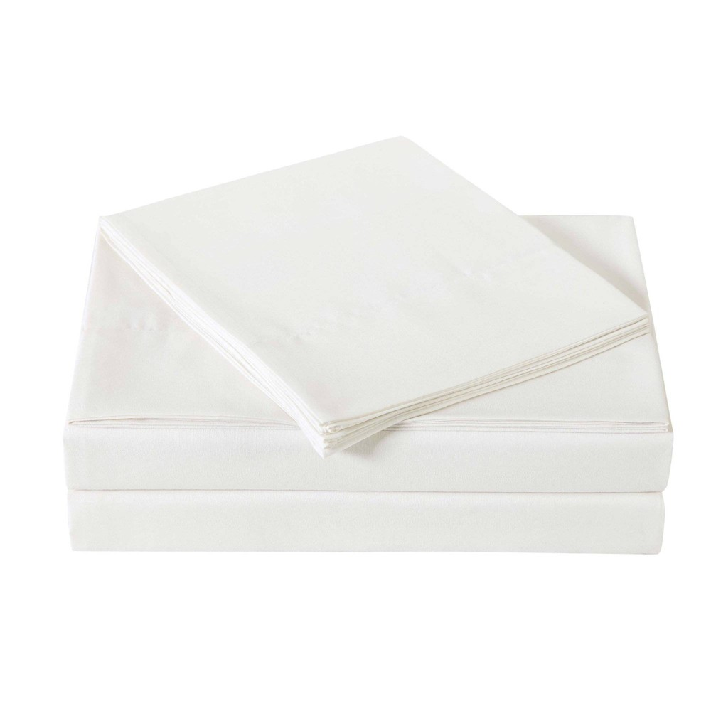 Image of Full Microfiber Everyday Sheet Set Ivory - Truly Soft