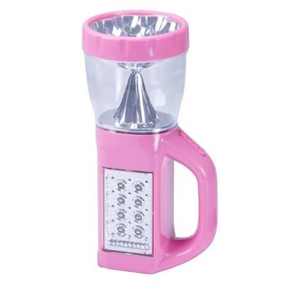 Stalwart LED 3-Way 24  Emergency Flashlight with Nightlight - Pink