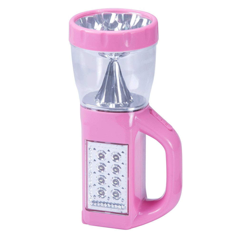 "Image of ""Stalwart LED 3-Way 24"""" Emergency Flashlight with Nightlight - Pink"""