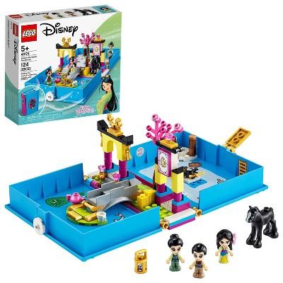 LEGO Disney Mulan's Storybook Adventures Princess Building Playset 43174