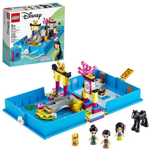 LEGO Disney Mulan's Storybook Adventures Princess Building Playset 43174 - image 1 of 4
