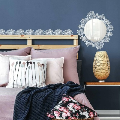 Lace Wall Decal with Mirror - RoomMates