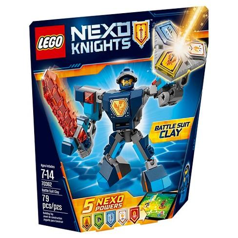 LEGO® Nexo Knights Battle Suit Clay 70362 - image 1 of 10