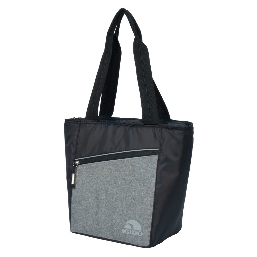 Igloo 12 Can Balance Cooler Tote Cooler Bag - Gray, Black