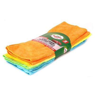 8pk Shining Microfiber Detailing Towel - Turtle Wax
