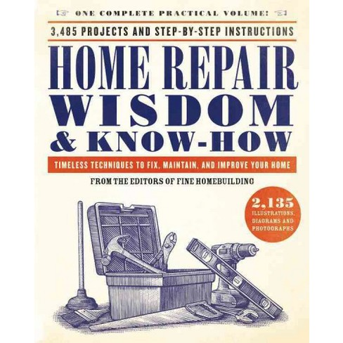 Home Repair Wisdom Know How Timeless Techniques To Fix Maintain