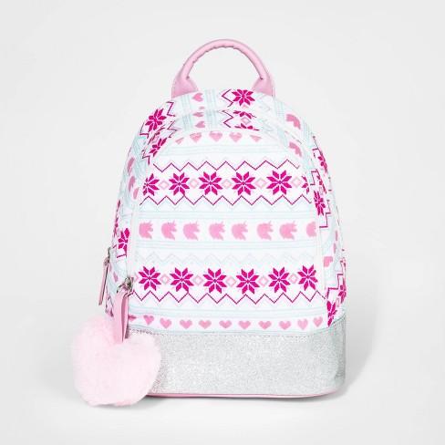 Toddler Girls' Fair Isle Unicorn Backpack - Cat & Jack™ - image 1 of 2