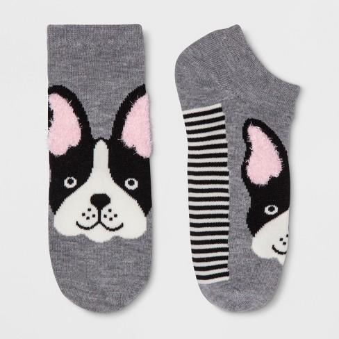 3ed19b83d3d9 Women's French Bulldog Socks - Xhilaration™ Heather Dusk One Size. Shop all  Xhilaration