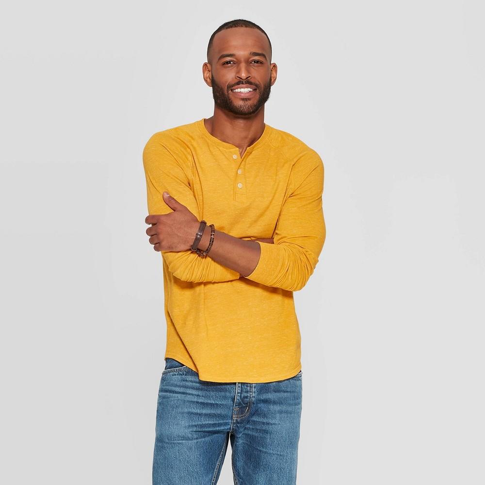 Men s Reguar Fit ong Seeve Jersey Heney Shirt Goodfeow Co 8482
