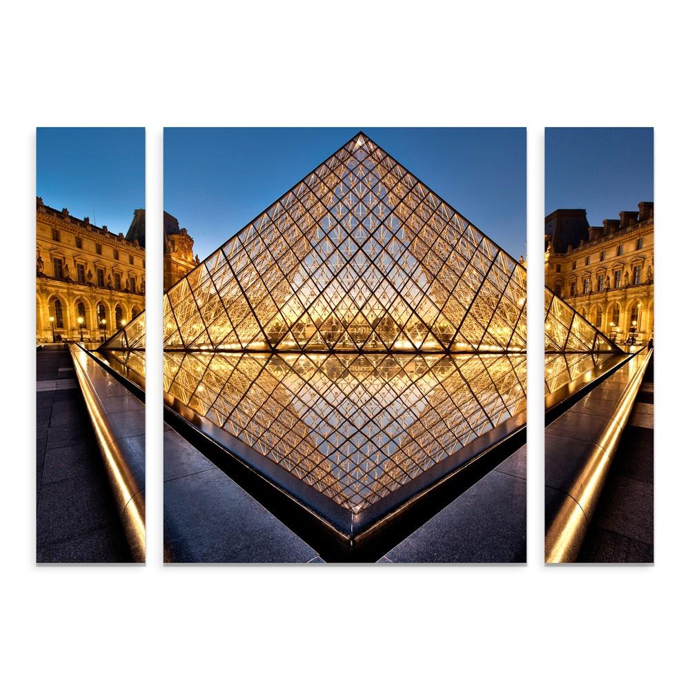 "Image of ""27""""x33.5"""" Marc Pelissier 'The Diamond' Multi Panel Decorative Wall Art set - Trademark Fine Art"""