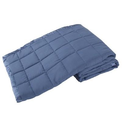 Elite Home Quilted Down Alternative Microfiber Blanket