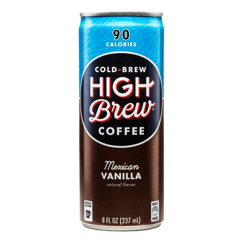 High Brew Coffee Mexican Vanilla - 8 fl oz Can - image 1 of 1