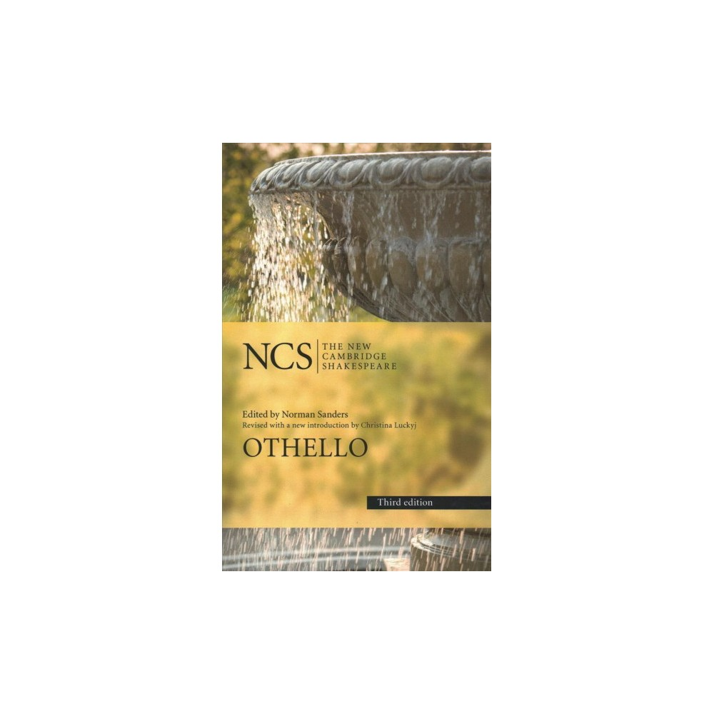 Othello - 3 Revised (New Cambridge Shakespeare) by William Shakespeare (Hardcover)