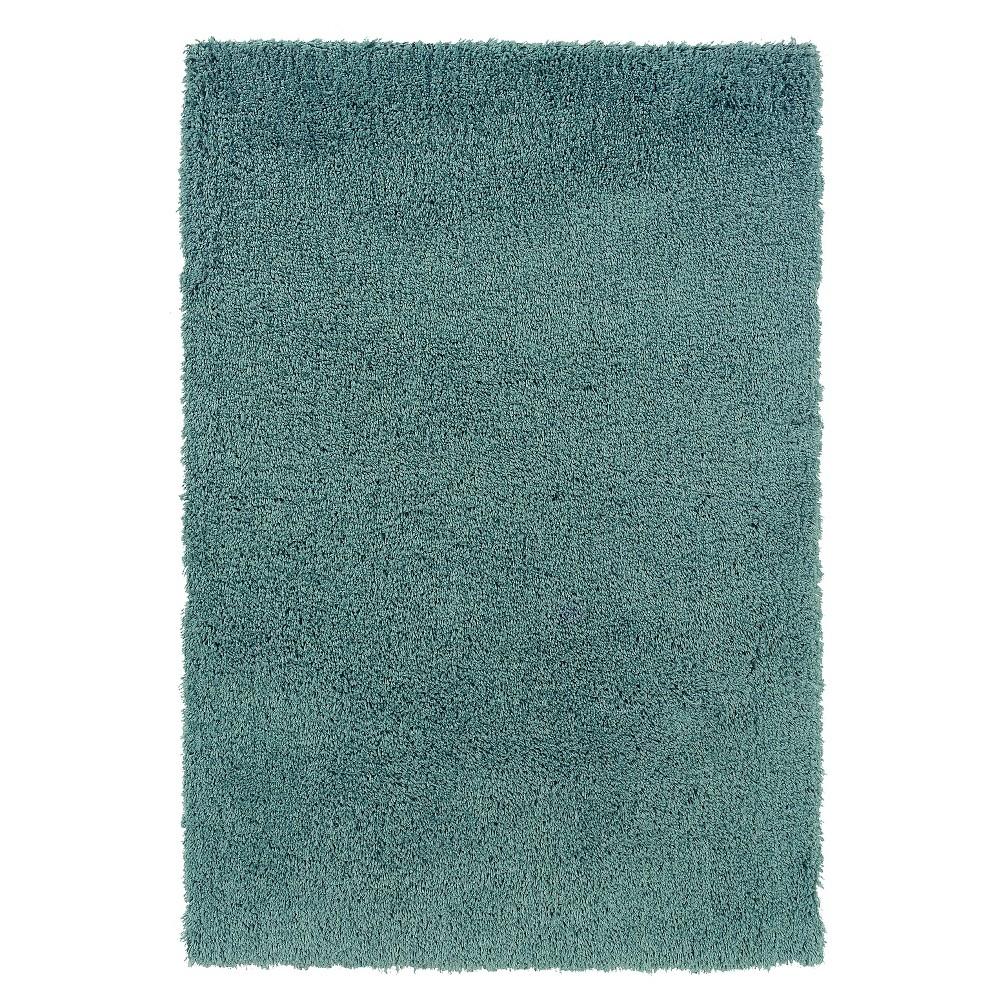 Copenhagen Super Soft Area Rug - Aquifer (5' X 7'), Blue