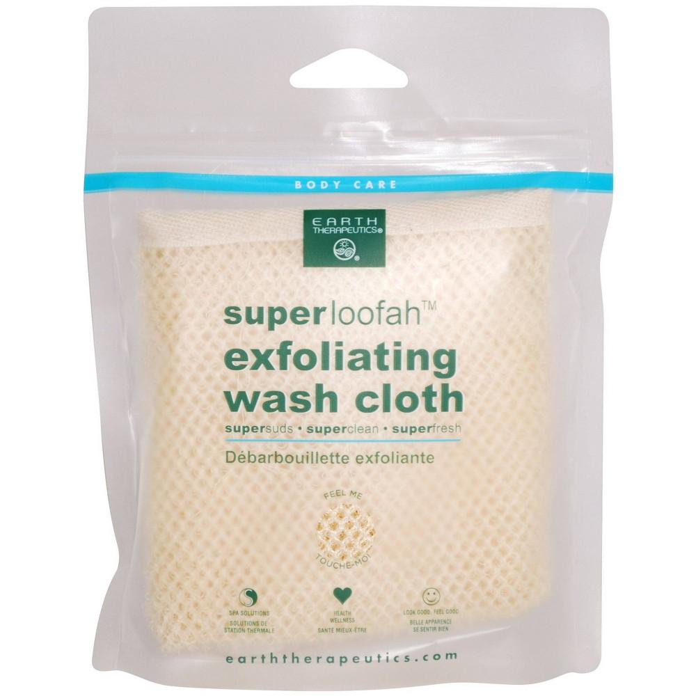Earth Therapeutics Super Loofah Exfoliating Cloth 1ct