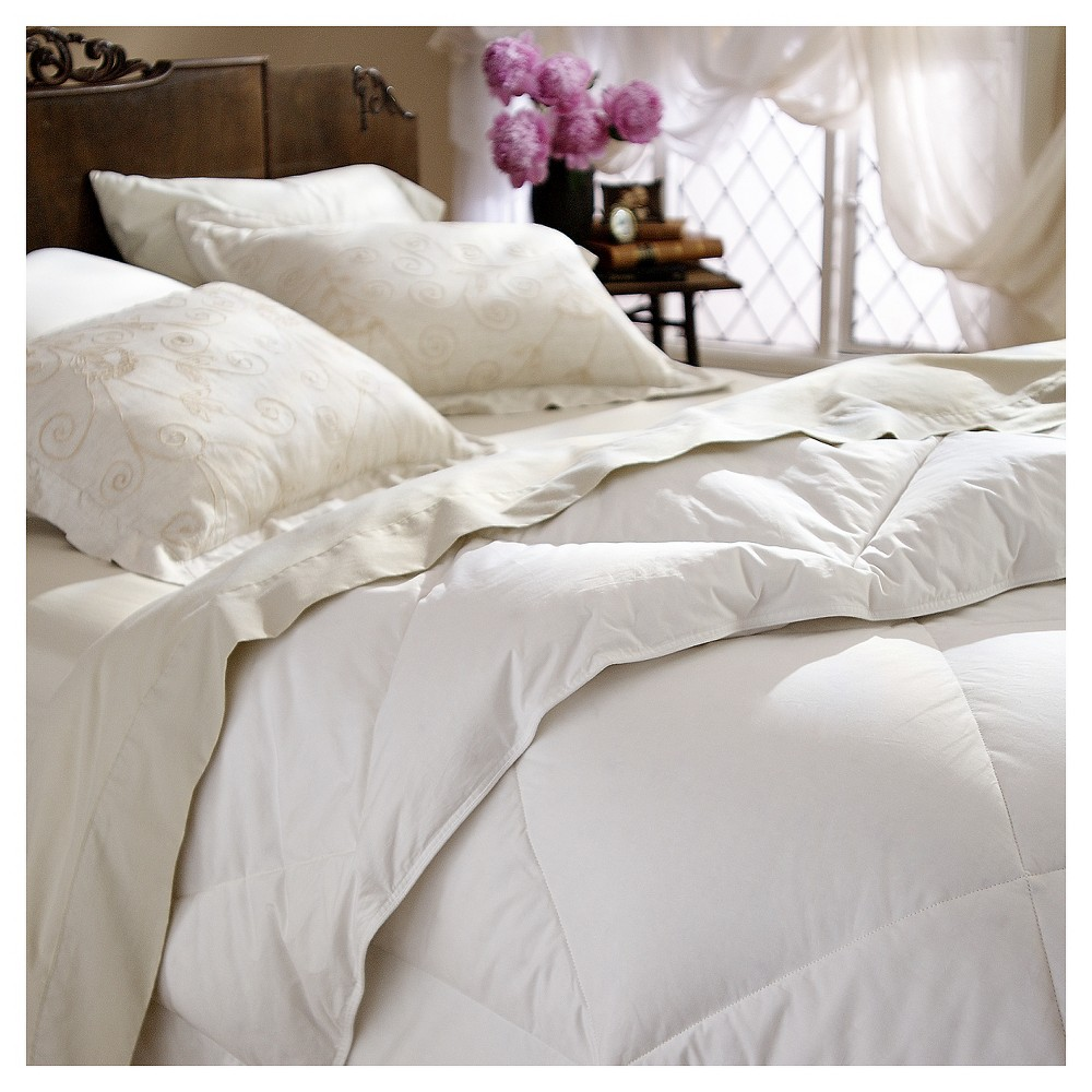 Image of Restful Nights All Natural Down Comforter - White (Full/Queen)