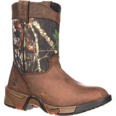 Rocky Kids' Aztec Wellington Brown Boot
