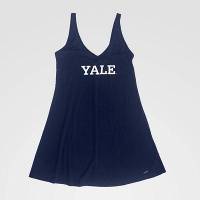 NCAA Yale Bulldogs Slip Dress - Blue S