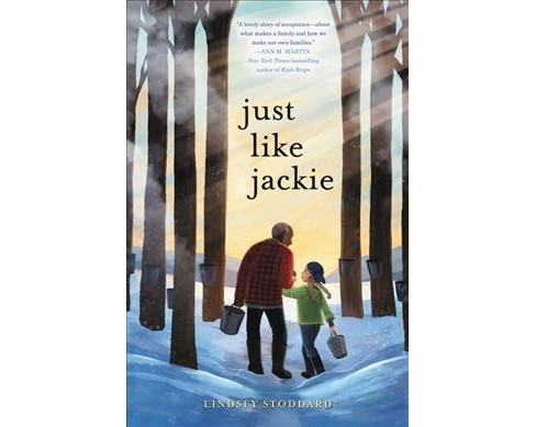 Just Like Jackie -  by Lindsey Stoddard (Hardcover) - image 1 of 1