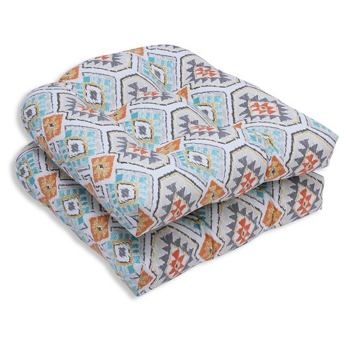 Pillow Perfect Eresha Oasis Outdoor Cushion Set - Off White - image 1 of 1