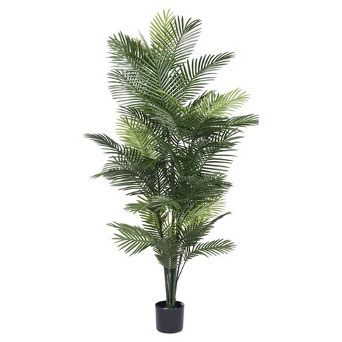 Artificial Robellini Palm Tree (UV) (6ft) Green - Vickerman - image 1 of 1