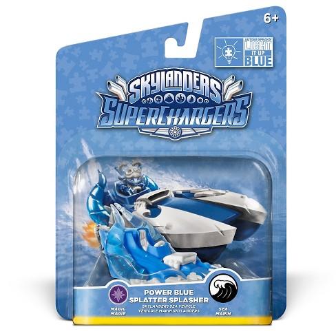 Skylanders SuperChargers Power Blue Splatter Splasher - image 1 of 4