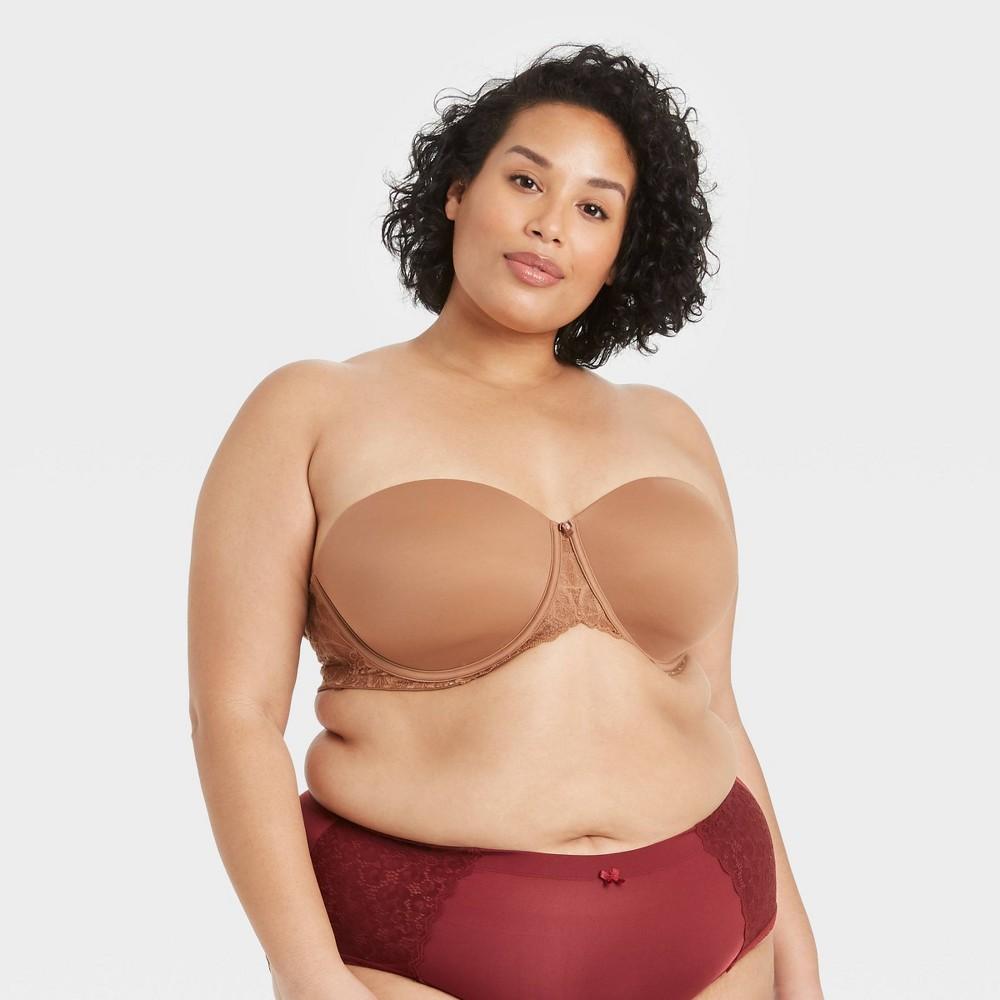 Women 39 S Plus Size Strapless Bra Auden 8482 Caramel 44dd